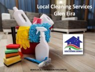 Local Cleaning Services Glen Eira