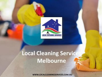 Local Cleaning Services Melbourne