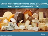 Global Cheese Market Share, Size and Forecast 2017-2022