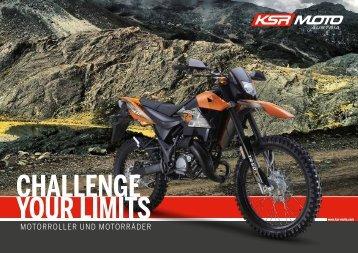 KSR MOTO Katalog 2018 deutschsprachig