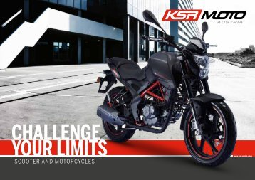 KSR MOTO Catalog 2018 english