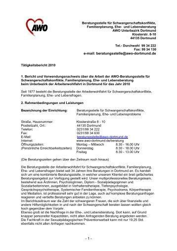 Bericht 2010 Internet - AWO Dortmund