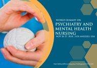 World Summit on Psychiatry and Mental Health Nursing