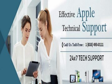 1 (833) 493-0111 Apple Technical Support Number