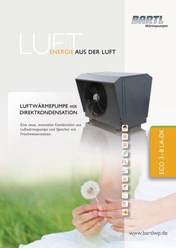 Broschüre als PDF - BARTL Wärmepumpen