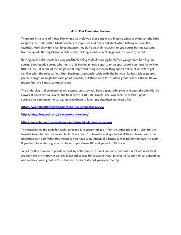 Auto Risk Eliminator Review