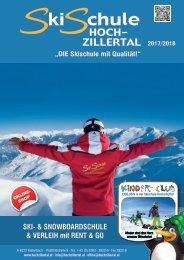 Skischule Hochzillertal, Prospekt 2017