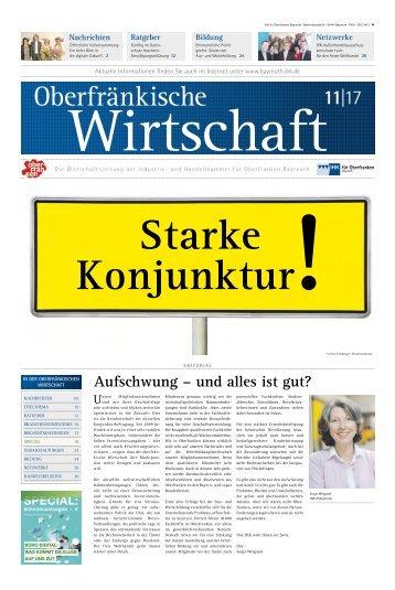 Oberfränkische Wirtschaft Ausgabe 11.2017