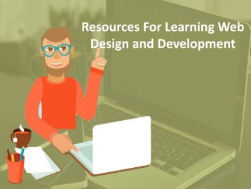 Resources For Learning Web Design and Development