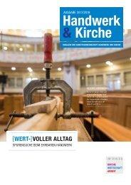 Magazin Handwerk und Kirche 2017/18