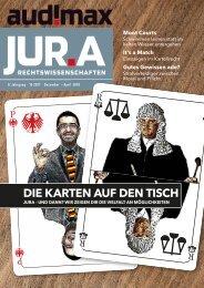 audimax JUR.A 12/2017: Das Karrieremagazin für Rechtswissenschaften