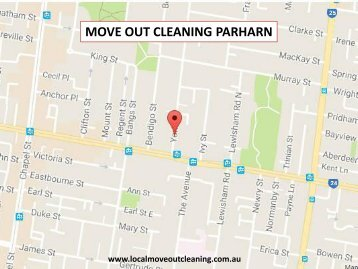 Move Out Cleaning Parharn
