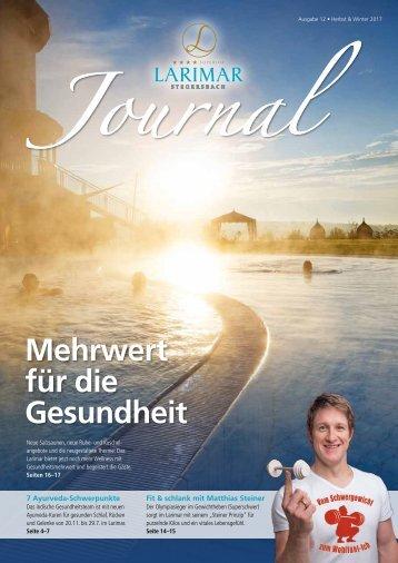 Larimar Journal Herbst & Winter 2017/18
