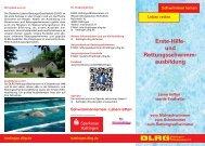 Erste-Hilfe- und Rettungsschwimmausbildung