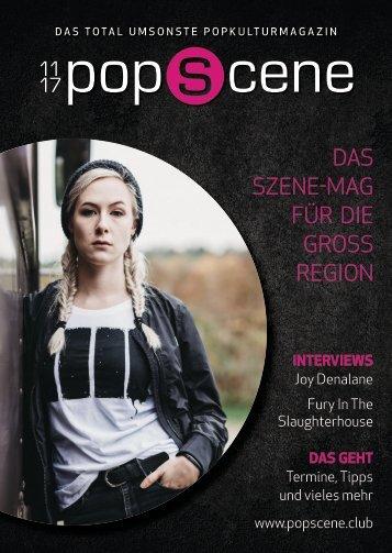 POPSCENE November 11/17