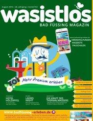 wasistlos Bad Füssing Magazin August 2016