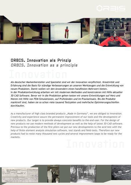 ORBIS Produkte