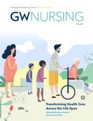GW Nursing Magazine Fall 2017