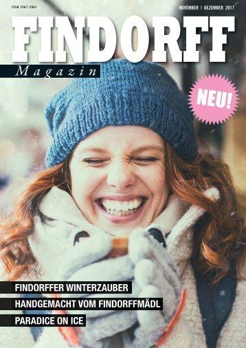 FINDORFF Magazin | November-Dezember 2017