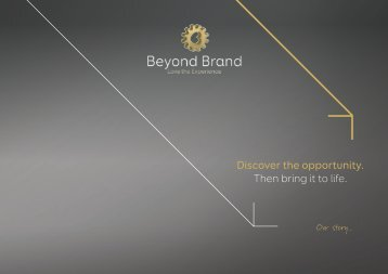 Beyond Brand Our Story