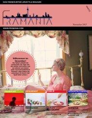 Framania Magazin Ausgabe November 2017
