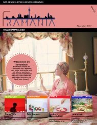 Framania Magazin Ausgabe November 2017