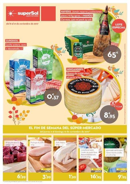 Supersol Muebles De Jardin.Folleto Supersol Supermercados Del 8 Al 21 De Noviembre 2017
