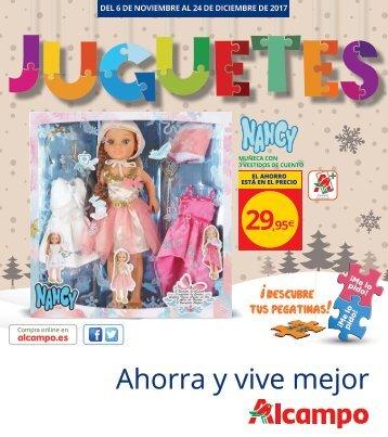 Catálogo JUGUETES ALCAMPO hasta 24 de Diciembre 2017