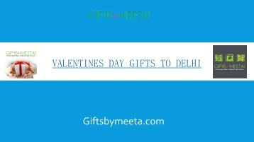 Valentines Day Gifts to Delhi