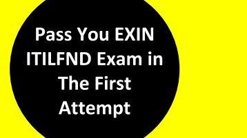 ITILFND Exam Questions