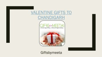 Valentine Gifts to Chandigarh