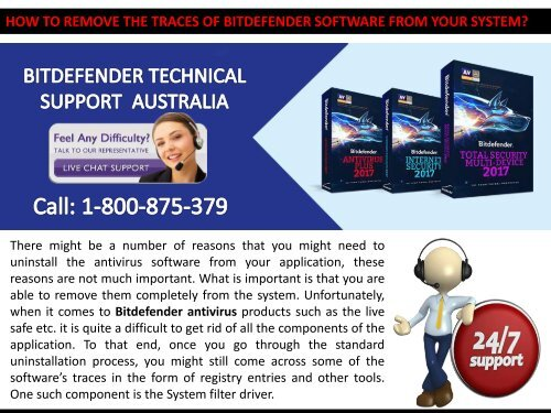 How to Remove the Traces of Bitdefender Software from your System?