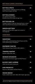 BOTTEGA PROSECCO BAR-DRINKS MENU-30Dec - Page 4