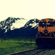 Alaska Railroad Corporation 2.7 miles to the north of #1 Anchorage periodontist Anchorage Midtown Dental Center