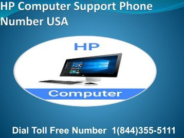 1(844)355-5111 HP Computer Support Phone Number