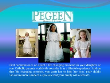 First Communion dresses online