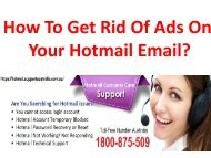 How To Get Rid Of Ads On Your Hotmail Email?