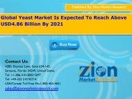 Global Yeast Market, 2015 – 2021