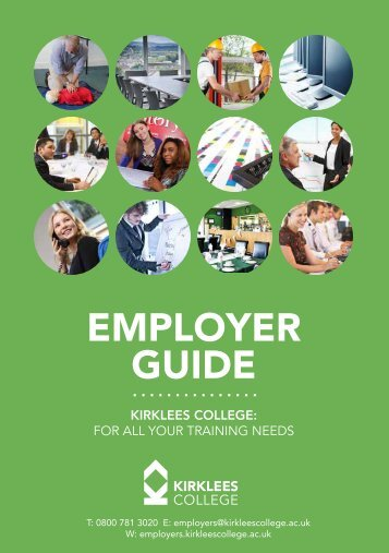 Kirklees College - Employer's Guide