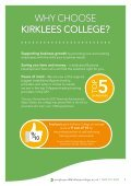 Kirklees College - Employer's Guide - Page 3