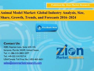 Animal Model Market