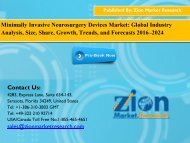 Minimally Invasive Neurosurgery Devices Market