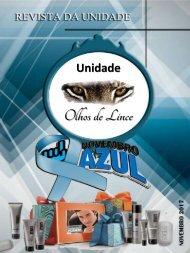 REVISTA UNIDADE OLHOS DE LINCE - NOVEMBRO 2017