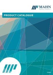 Product Catalogue 2017 | Mahn Medizinprodukte GmbH