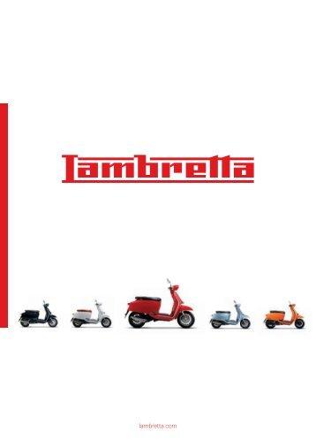 Catalogue Lambretta Scooter 2018 français