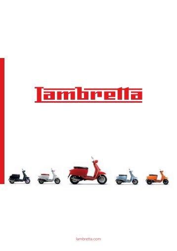 Catálogo Lambretta Scooter 2018 español