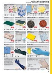 Reinigung & Einwegartikel_echsle gastro Katalog