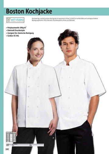 Kleidung & Arbeitsschuhe_echsle gastro Katalog