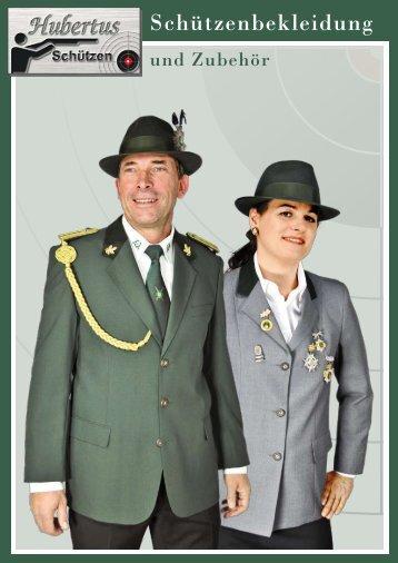 Hubertus Schützenbekleidung Katalog