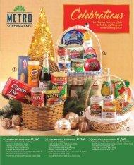 SUPER METRO CELEBRATIONS CATALOG 2017
